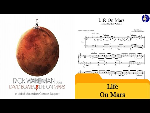 Life On Mars - David Bowie - Rick Wakeman Version