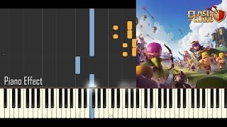 Video Clash of Clans Theme (Piano Tutorial Synthesia) download MP3, 3GP, MP4, WEBM, AVI, FLV Agustus 2018