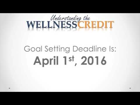 Understanding The Wellness Credit