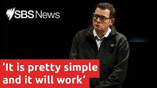 Covid-19 Update: Victorian Premier Daniel Andrews | SBS News