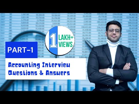 Accountant/Accounting Interview Questions And Answers For Freshers/Experienced   2020