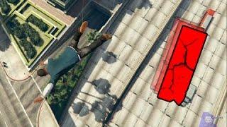 GTA | EPIC FAILS 2.0 | Caidas en ciudad a camara lenta | 1