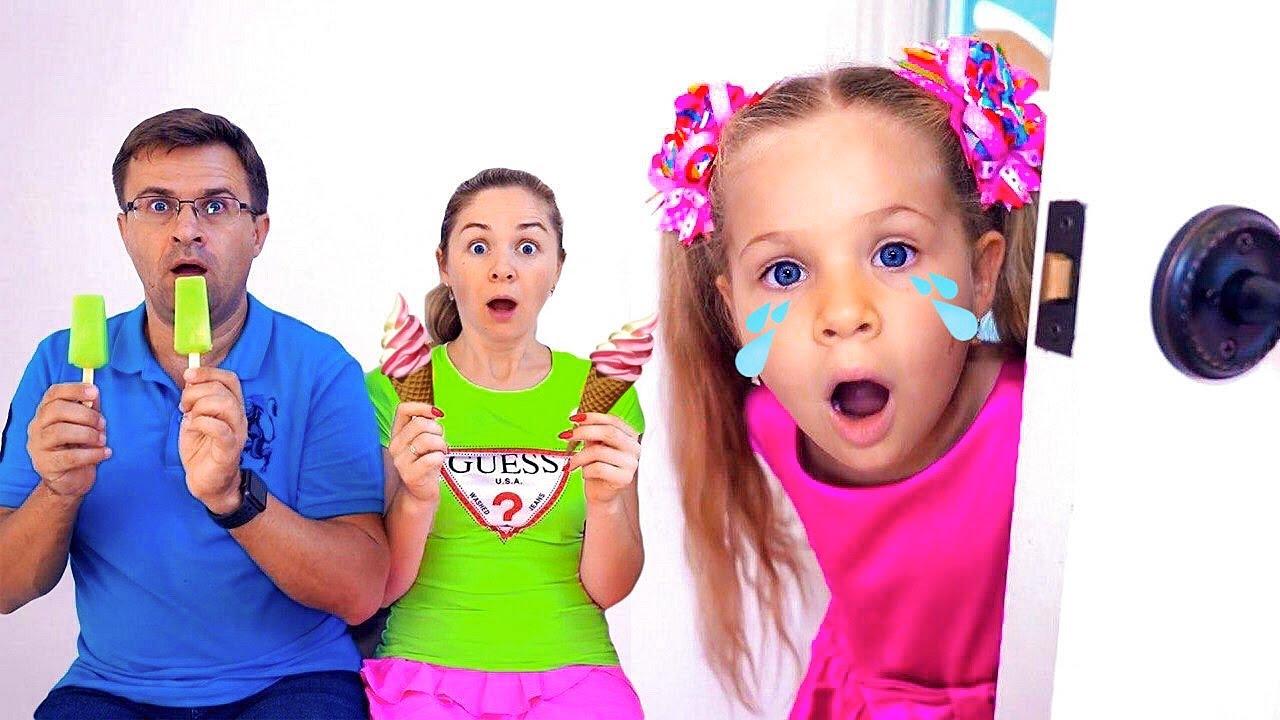 ダイアナ、いろんなアイスクリームを食べる!