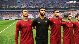 PES 2019 | POLAND vs PORTUGAL | Full Match & Amazing Goals | Gameplay PC