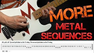 More Metal Guitar Scale Sequences