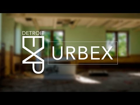 Walk through a desolate Detroit middle school. (Interesting broadcast equipment remains)