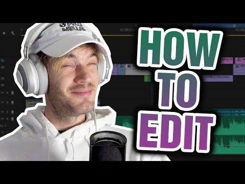 Brad1: How To Edit A Pewdiepie Video