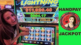 My 1st HANDPAY JACKPOT on Lightning Link Best Bet + Walking Dead Handpay