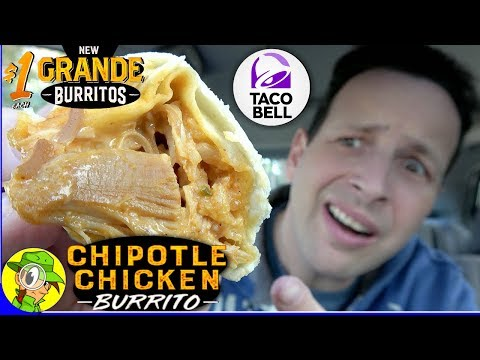 Taco Bell® | CHIPOTLE CHICKEN GRANDE BURRITO Review 🐔🌯 | Peep THIS Out! 🌮🔔