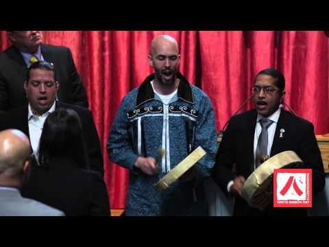 White Ribbon Day Campaign 2015 - Wampanoag Tribe of Gay Head (Aquiannah) Honor Song Performance