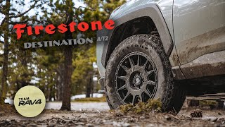 The Perfect Overland Tİre for your RAV4 | Firestone Destination A/T2