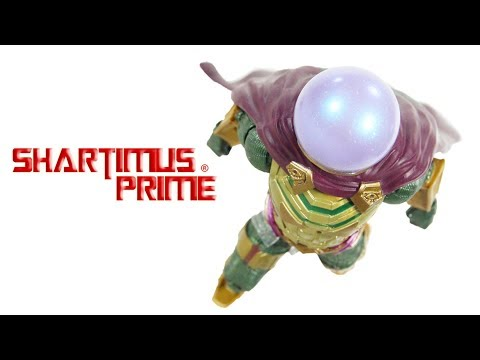marvel-legends-mysterio-spider-man-far-from-home-molten-man-baf-wave-action-figure-toy-review