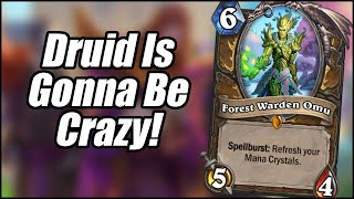 Druid Is Gonna Be Crazy! | Card Review (Part 7) | Scholomance Academy | Hearthstone