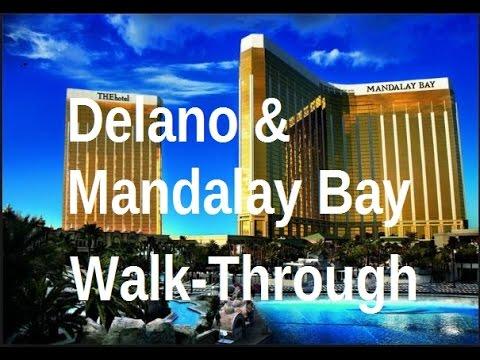 Delano & Mandalay Bay (Las Vegas) Unique Walk-Through