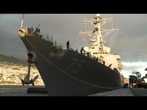 A Brief Tour of USS Donald Cook Guided-Missile Destroyer - Ballistic Missile Defense