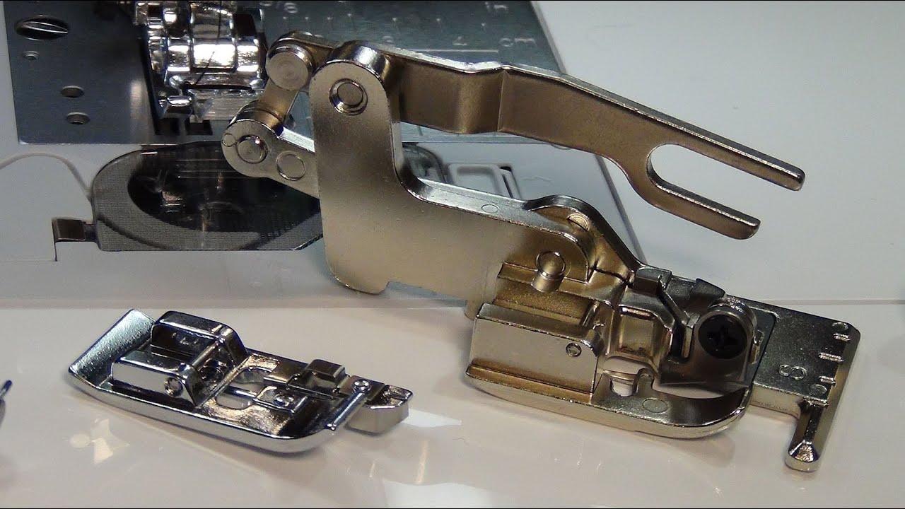 Как подобрать лапки для швейной машины - YouTube