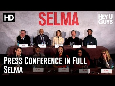 Selma Press Conference in Full Oprah Winfrey, David Oyelowo, Common