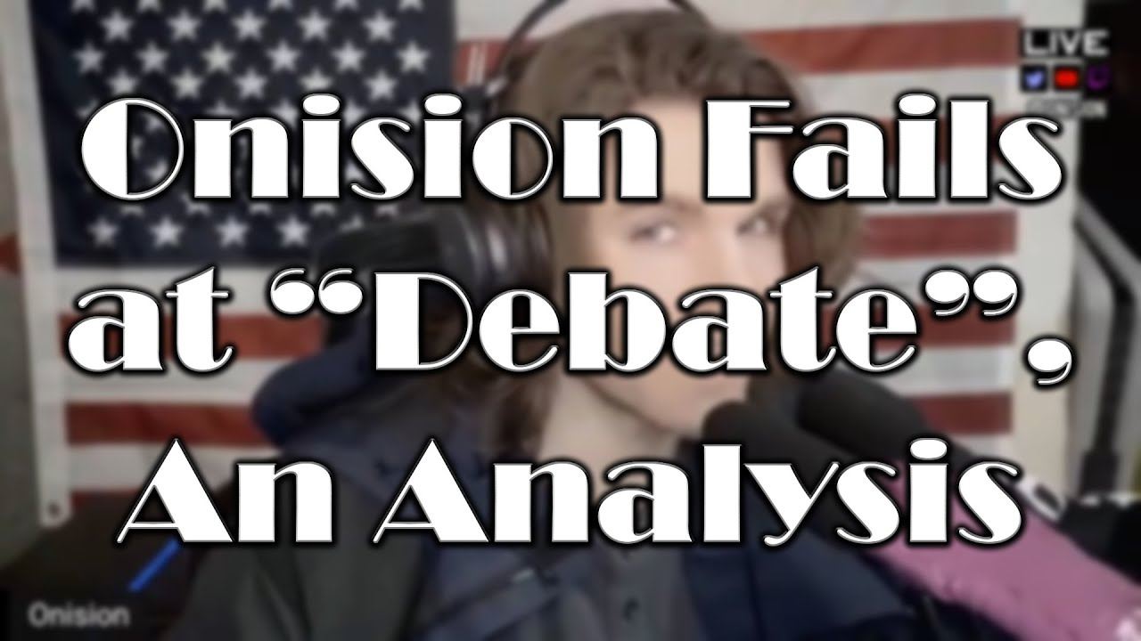"""Onision Fails at """"Debate"""", An Analysis - A Mental Health Perspective"""