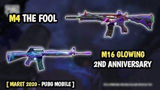 Kesempatan Dapet Skin M4 The Fool & M16 Glowing Animasi - Pubg Mobile