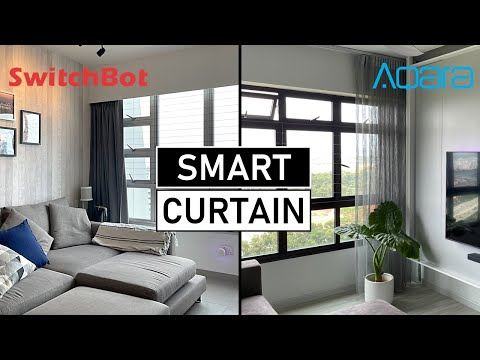 Smart Curtains for $120 SwitchBot vs Aqara | GIVEAWAY