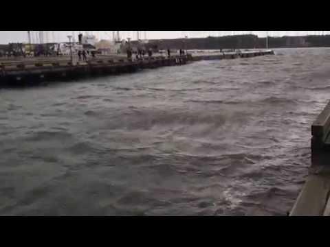 Uraganas Feliksas – Dangė teka atgal