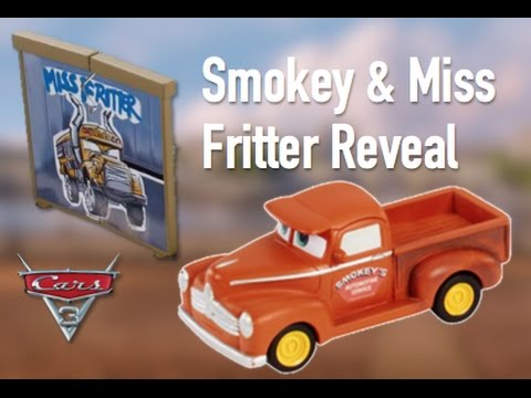 cars 3 smokey miss fritter revealed speculation youtube. Black Bedroom Furniture Sets. Home Design Ideas