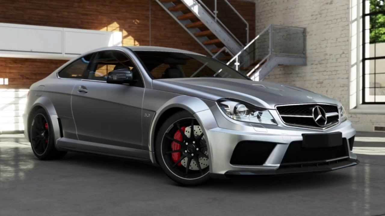 mercedes c63 amg black series review xbox one forza 5 youtube. Black Bedroom Furniture Sets. Home Design Ideas
