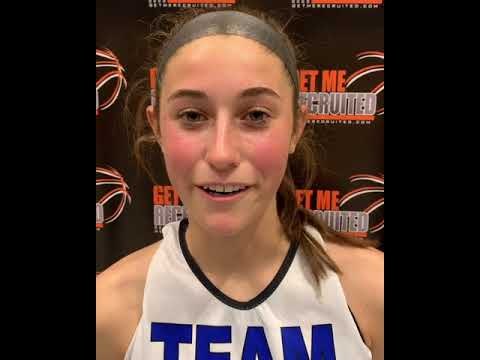 Lauren Shedleski (Team Pennsylvania Polly 16U/Mt. Carmel Area HS/Kulpmont, PA) 2022 5'9 SG