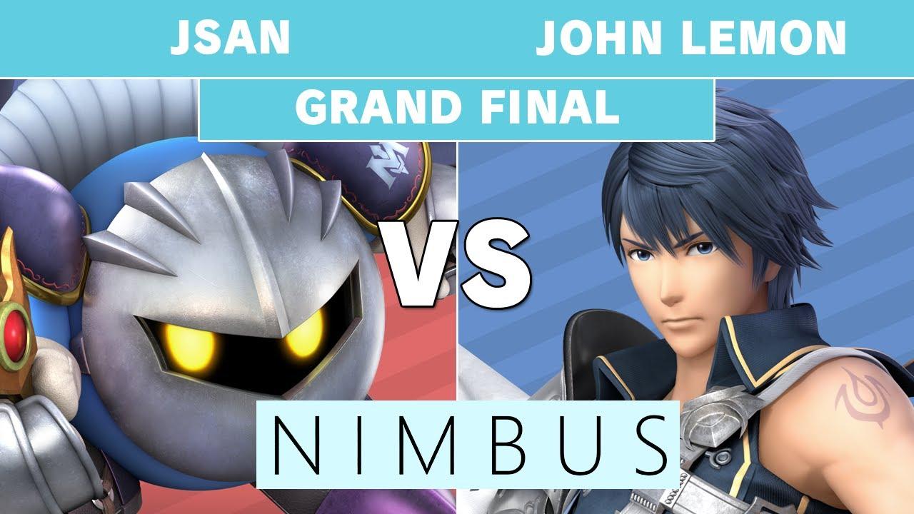 Nimbus 59 - WSW | Jsan (Meta Knight) vs  John Lemon (Chrom) Grand Final -  Smash Ultimate