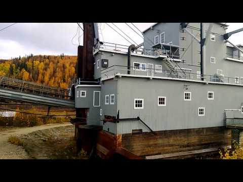 Dredge #4 Klondike, Yukon  Part 1