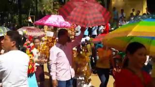 Lễ dâng y Kathina chùa Sam-rông Ek ngày 11/11/2018
