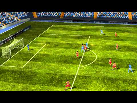 FIFA 14 Android - Cabinda Street VS FC Barcelona
