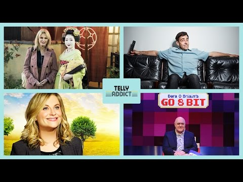 Telly Addict With Andrew Collins - Ep14 - Joanna Lumley's Japan, Parks And Rec, Go 8 Bit