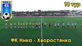 ФК Ника - Хворостянка 18 тур чемпионата Самарской области по футболу
