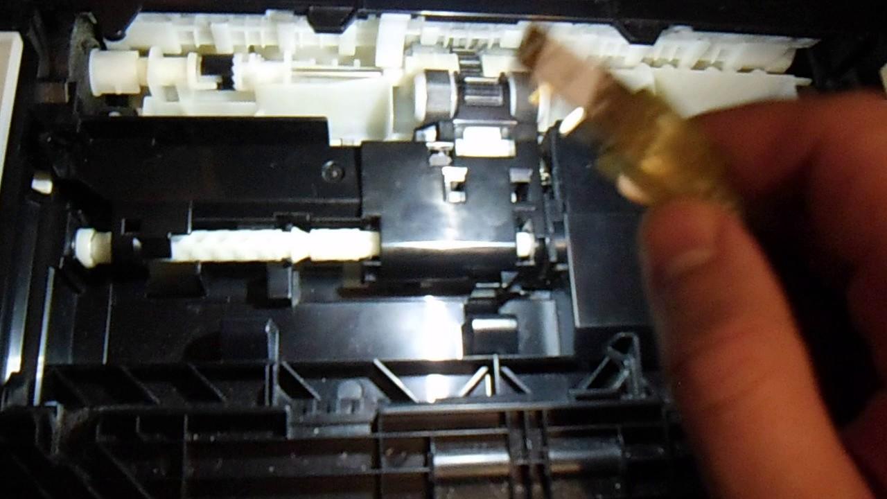Зажевывает бумагу в принтере canon mp230 49