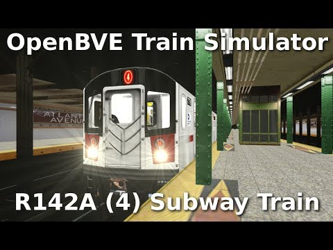 OpenBVE ►R142A | (4) Train to Woodlawn!◀