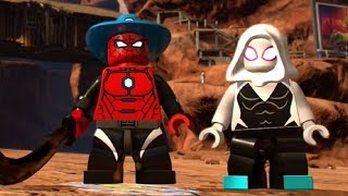 LEGO Marvel Super Heroes 2 - The Old West 100% Guide (All Collectibles)
