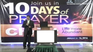10 Hari Berdoa 2016 - EIUC - Day 1