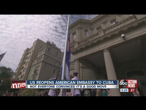 United States, Cuba restore full diplomatic relations over 5 decades after split