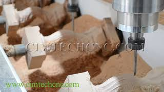 Russia High Precision 4Axis 3D CNC Router for Classic Europe Style Wood Furniture Carving Machine