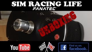 Fanatec ClubSport Base V2 Unboxing & First Look