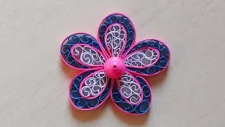 Paper Quilling: Flower - For beginners - DIY Crafts Tutorials