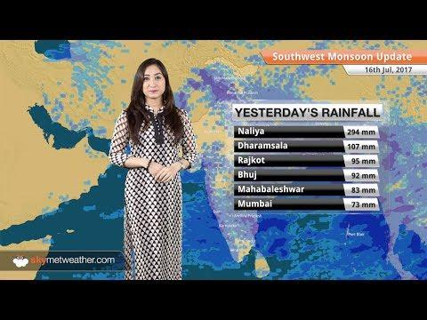 Monsoon Forecast for Jul 17, 2017: Monsoon rains in Mumbai, Chennai, Rajasthan, Gujarat