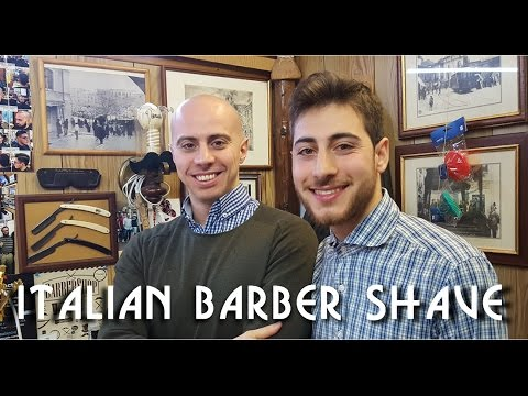💈 Italian Barber -  Complete Face and Head shave with relaxi