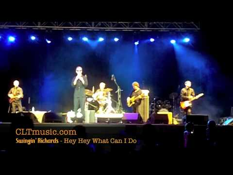 Swingin' Richards live at Blues and BBQ at NC Music Factory - Hey Hey What Can I Do