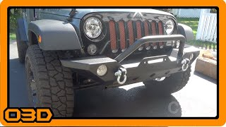 Barricade Trail Force HD Front Bumper Install - Extreme Terrain