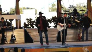 Montgomery Gentry singing 'Speed' in concert at Bands Brew & BBQ at SeaWorld Orlando