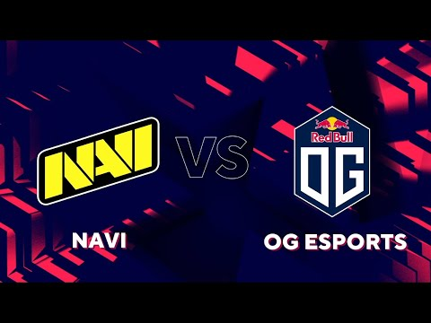 ГРУППА А - ФИНАЛ. NAVI vs OG. Map-1 MIRAGE. BLAST PREMIER FALL 2020