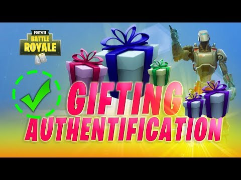How Gifting Works in Fortnite + Activating your 2 Factor Authentification (2FA Account Guide)
