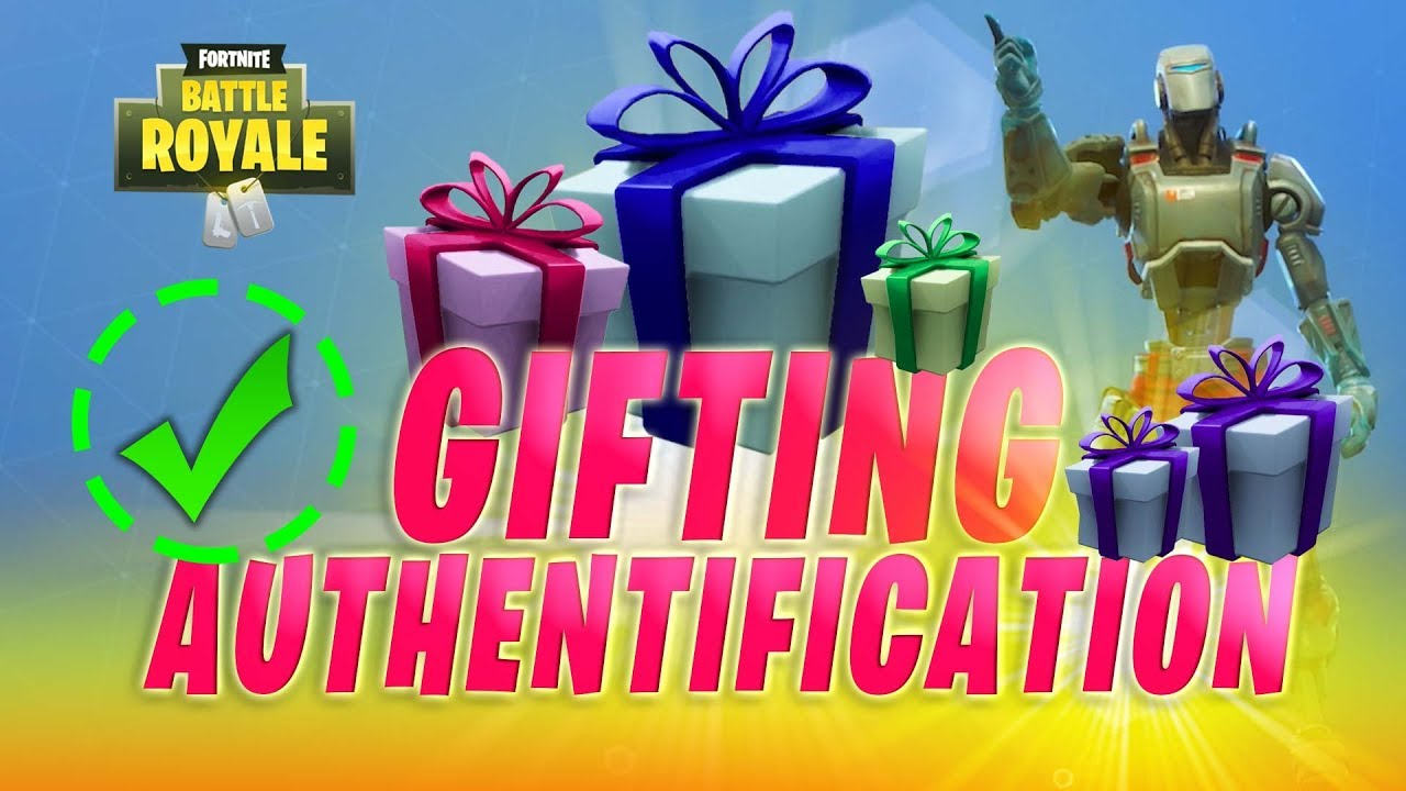 How Gifting Works in Fortnite + Activating your 2 Factor ...